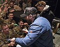 5 Dec. 2016 CJCS USO Holiday Tour - Incirlik Air Base 161205-D-PB383-039 (30646762543).jpg