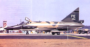 64th Aggressor Squadron - 64th FIS Convair F-102A-60-CO Delta Dagger 56-1064, Clark AB PI 1967