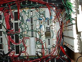 Transistor–transistor logic class of digital circuits built from bipolar junction transistors (BJTs) and resistors; transistors perform both the logic function (e.g., AND) and the amplifying function