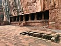 6th century entrance to Cave 3, Badami Hindu cave temple Karnataka 2.jpg
