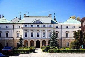 Pac family - Palace of the Pac family in Warsaw.