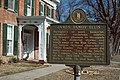 88b128 Historical plaque in front of James Tandy Ellis house, Ghent, Kentucky (24190236474).jpg