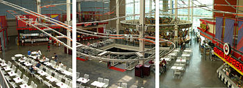 English: The food court of the Palisades Cente...