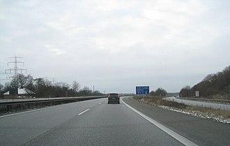 Bundesautobahn 1 - Image: A1 Kreuz Hamburg Ost (31)