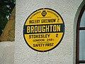 AA Sign, Great Broughton Village Hall - geograph.org.uk - 24167.jpg
