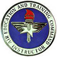 USAF Air Education and Training Command Instructor Badge