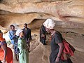 ASC Leiden - van de Bruinhorst Collection - Somaliland 2019 - 4574 - Visitors of the Hargeysa 12th International Book Fair 20-25 July 2019 in the caves with rock paintings of Laas Geel.jpg