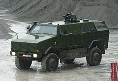A Dingo 2 of the Austrian Army