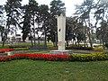 A 11-es győri vadászzászlóalj emlékműve, Kálóczy téri park, 2018 Győr.jpg
