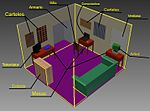 A 3D model of a bedroom created with Autodesk Inventor- 2014-05-11 12-38.jpg