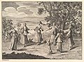 "A Native Dance (Aubry de La Mottraye's ""Travels throughout Europe, Asia and into Part of Africa...,"" London, 1724, vol. I, pl. 11) MET DP824501.jpg"