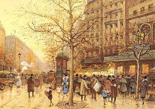 A Paris Street Scene