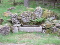 A drinking trough by the Firmounth - geograph.org.uk - 833051.jpg