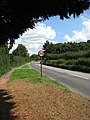 A long bend in the B1145 - geograph.org.uk - 923865.jpg