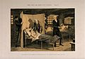 A prisoner lies dying in his bed, his life ruined by early f Wellcome V0019420.jpg