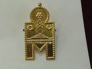 Mangala sutra - Image: A thamiar thaali