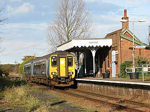 A train has arrived at Worstead Station - geograph.org.uk - 1047310.jpg