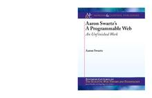 Aaron Swartz s A Programmable Web An Unfinished Work.pdf