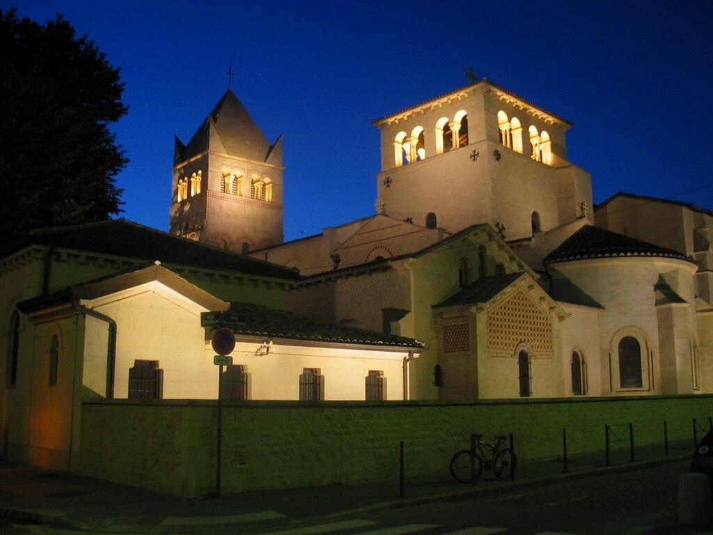 La basilique d'Ainay à Lyon - Photo de Pramzan