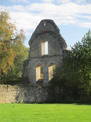 Perseigne Abbey - Remains of the abbey church