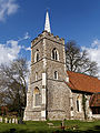 Abbess Roding - St Edmund's Church - Essex England - church from southwest.jpg