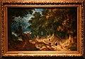 Abraham govaerts, paesaggio boscoso con zingare, 1612.jpg