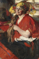 Abram Arkhipov Peasant Woman with Red Shawl.png