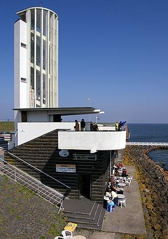 Willem Marinus Dudok - Image: Abschlussdeich Aussichtsturm