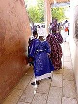 Accompagnatrices mariée