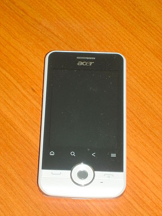 Acer beTouch E120 - Image: Acer be Touch E120