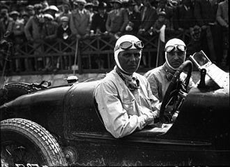 1930 Targa Florio - Winner Achille Varzi in Alfa Romeo P2