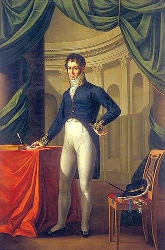 Adam Jerzy Czartoryski - Czartoryski in 1810. Portrait by Józef Oleszkiewicz