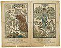 Adams og Evæ Skabelse i Paradiis. Adams og Evæ Syndefald i Paradiis.jpg