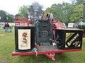 Advance traction engine, rear platform, Abergavenny.jpg