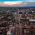 Aerial view of Avenida Agustín Fernando de Pinedo looking south.jpg