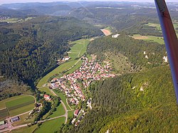 Aerial view of Bärenthal