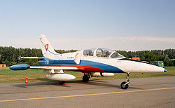 Aero L-39 ZA of Slovak Air Force (reg. 1701), static display, Radom AirShow 2005, Poland.jpg