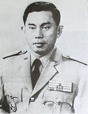 Lt. Gen. Ahmad Yani, Indonesian Army Commander...