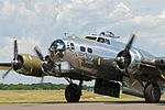 """AirExpo 2010 - B-17 Flying Fortress """"Yankee Lady"""" (4824632328).jpg"""