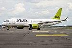 Air Baltic, YL-CSF, Bombardier CS300 (37041503116).jpg