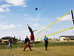 Airmen compete during Wing Sports Smackdown 150513-F-GF295-073.jpg