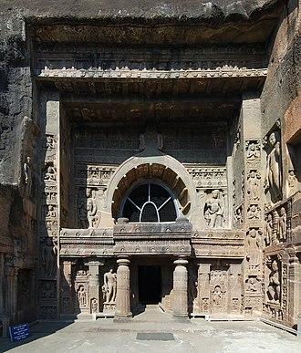 Tourism in Marathwada - Image: Ajanta cave 9 2010