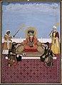 Akbar Shah II and his four sons.jpg