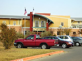 Austin Independent School District - Image: Akins High School