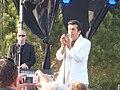 Albert « Bébert » Kassabi et Patrick Papin en concert à la base de loisirs de Fréjus (Var) le 30 mai 2015.jpg