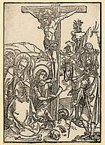 Albertina-Passion - Christ on the cross - Albrecht Dürer.jpg