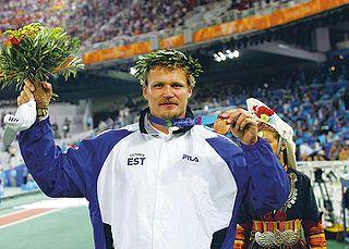 Aleksander Tammert athletics competitor