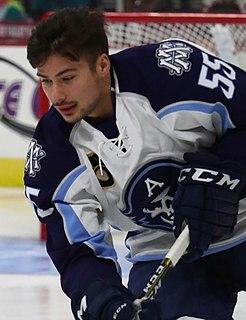 Canadian ice hockey player, born 1996