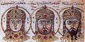 Alexius IV, Alexius V and Theodore I.jpg