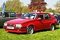 Alfa Romeo 75 1962cc registered October 1992.jpg